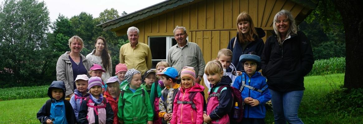 Kindergarten St. Korona auf den Spuren der Biene Maja