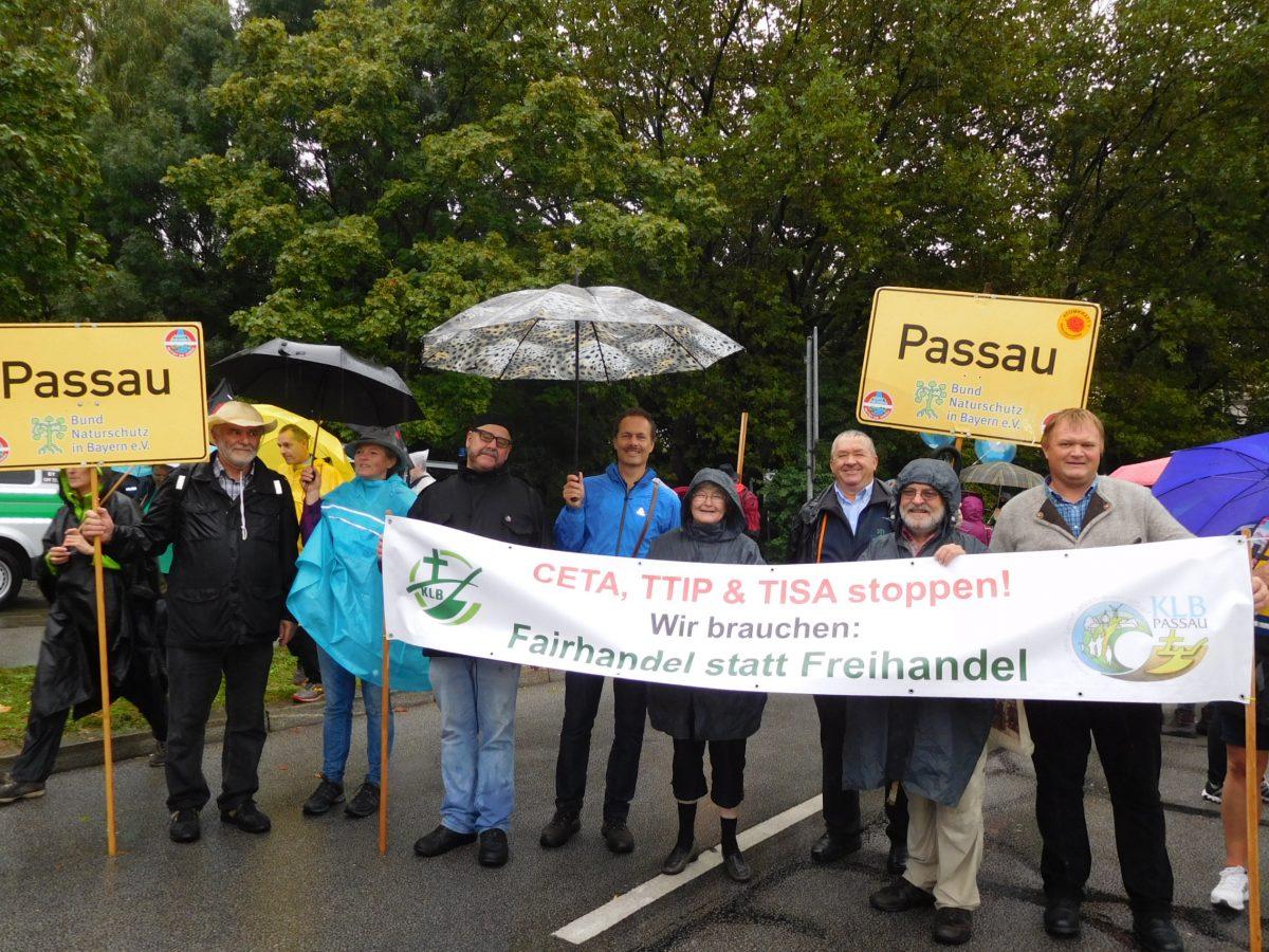 Über 20.000 Teilnehmer bei der Anti-Freihandelsabkommen-Demo in München