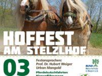 Dienstag, 03. Oktober 2017 – Hoffest am Stelzlhof – 10 Jahre Ökozentrum